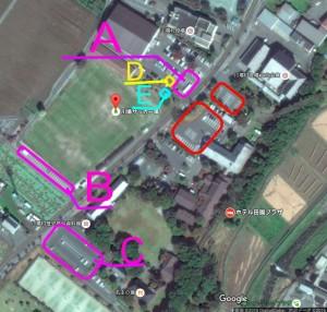 川場村地図